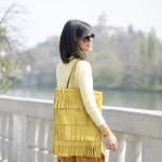Shades of yellow: Baroque pants &amp; Pastel jersey