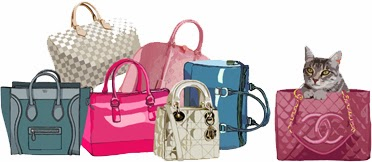 Purses&I - Kiki in the bag logo
