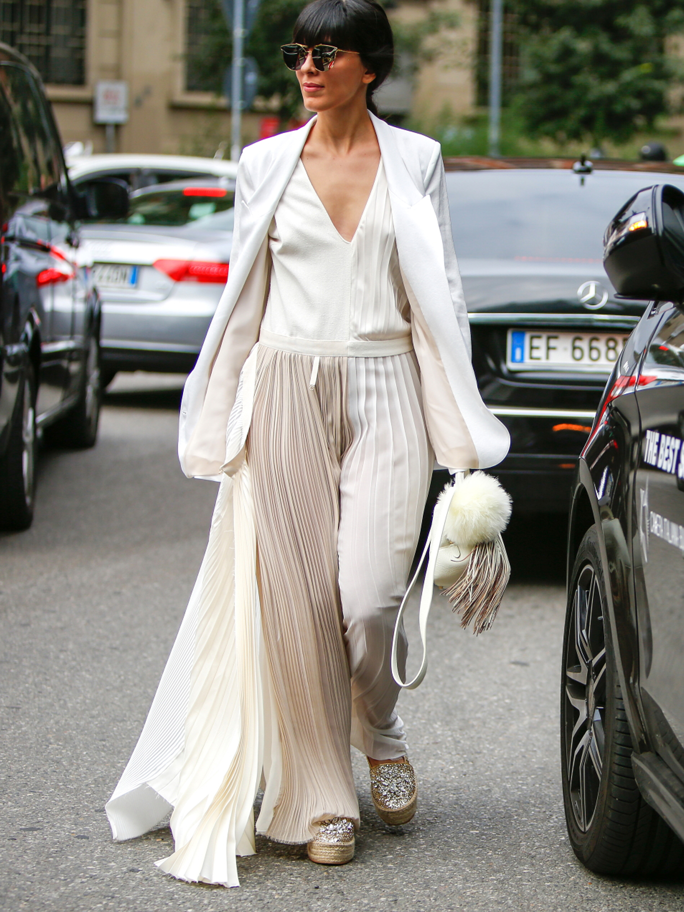Come indossare il bianco in total look